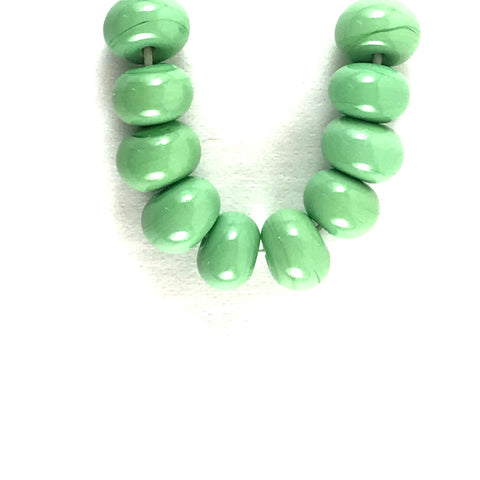 Lime: Lime Pith Single Color Beads