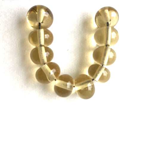 Sand: Golden Sands Single Color Beads (Set of 10)
