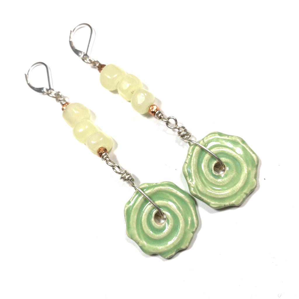 Summer Escape - Lemon and Lime Earrings