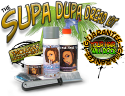 supa dupa dread kit for making dreadlocks