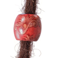 Paisley Wooden Dreadlocks Bead
