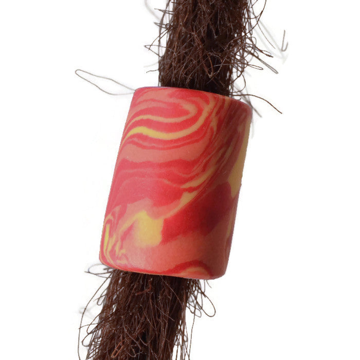 Earthtone Red Clay Dread Bead