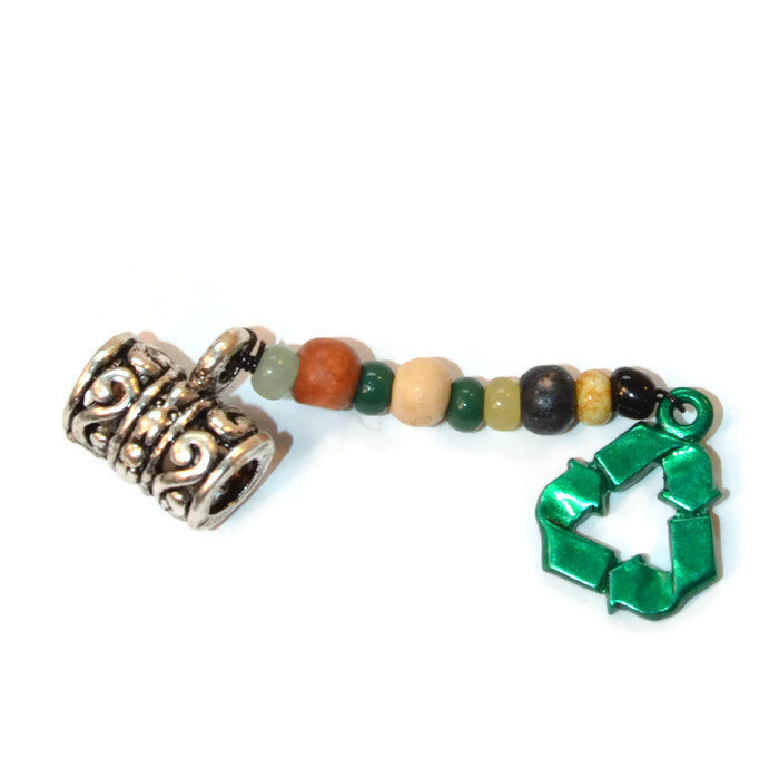 Recyle Dread Dangle