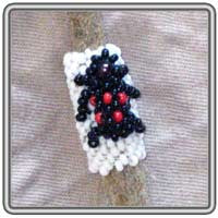3D Bug Peyote Stitch