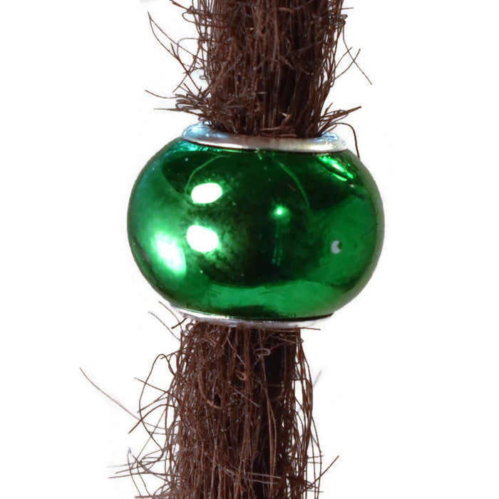 Green Dream Dread Bead