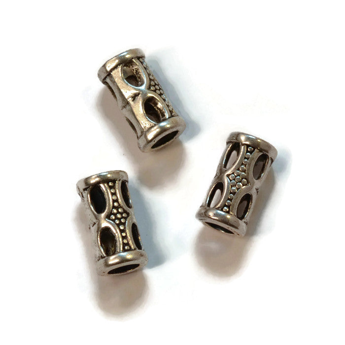 Pewter Dread Bead 84