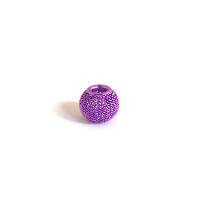 Grape Mesh Dreadlocks Bead