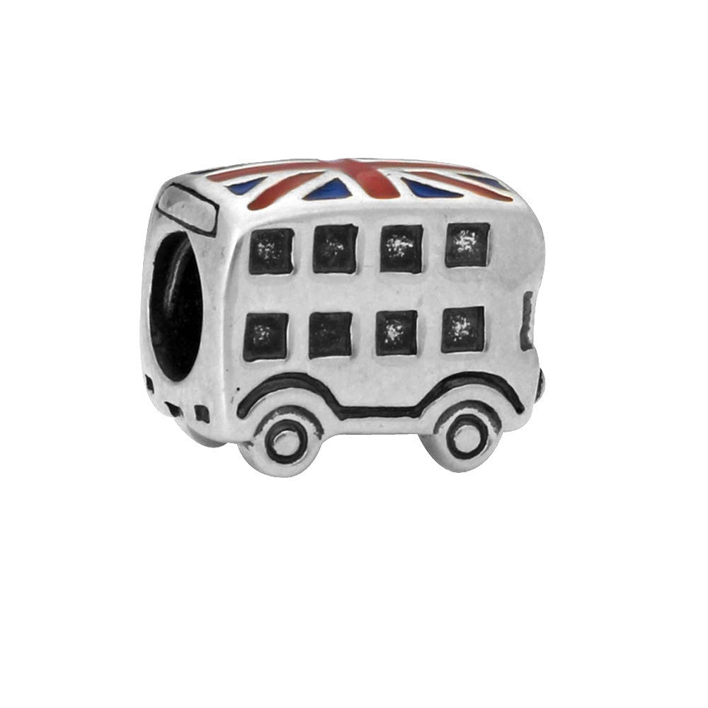 Bus Pewter Dread Bead