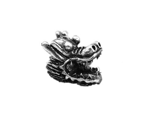 Dragon Pewter Dread Bead