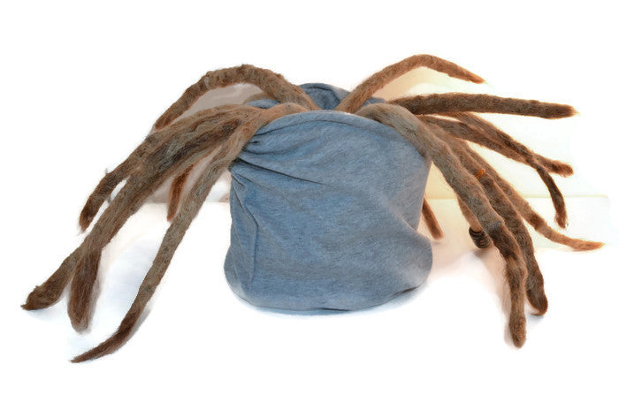 Gray Dread Head Band