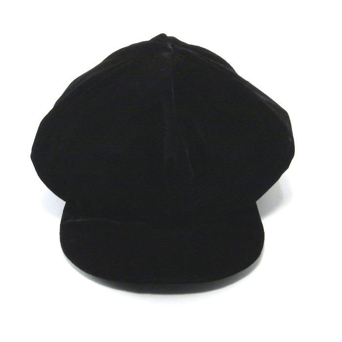 Billed Velvet Dread Hat