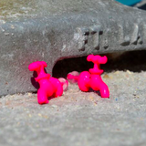 Pink Faucet Earrings