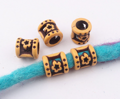 Flowers Dread Bead