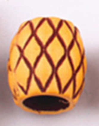 River Drum Dread Bead
