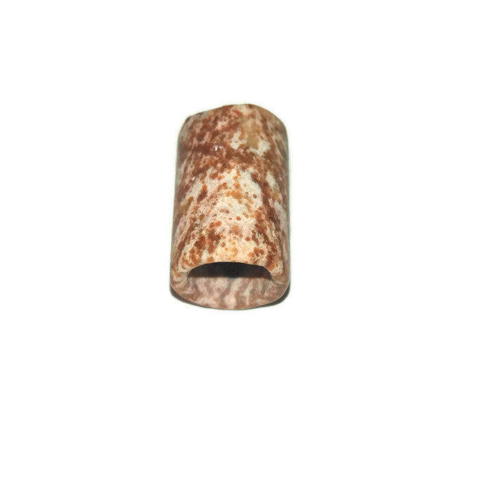 Earthtone Stone Dread Bead