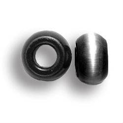 Midnight Cat's Eye Dread Beads