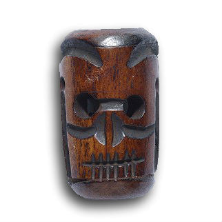 Bone Skull Dread Bead