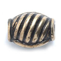 Bronze Rope Dread Bead
