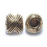 Bronze Knots Dread Bead