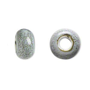 Pumice Ceramic Dreadlocks Bead