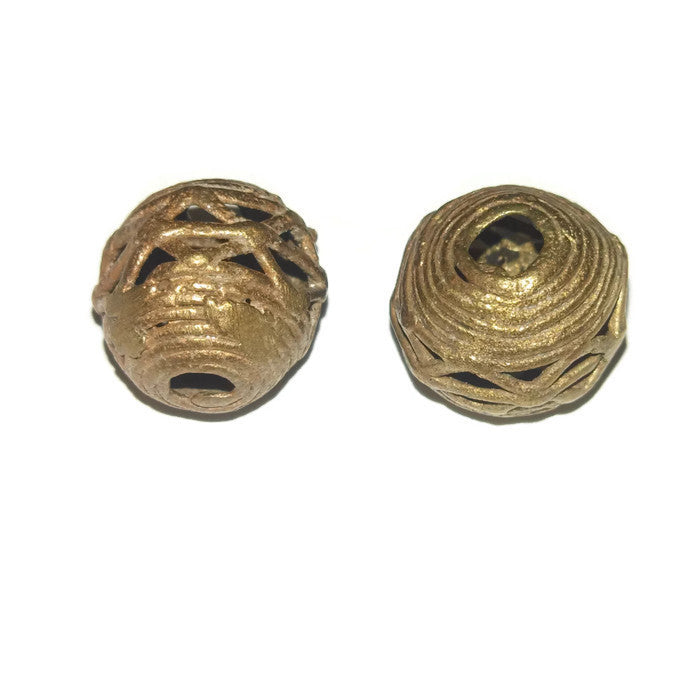 Copper Angles Dread Bead