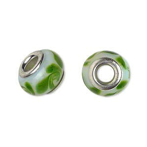 Glass Dread Bead 11