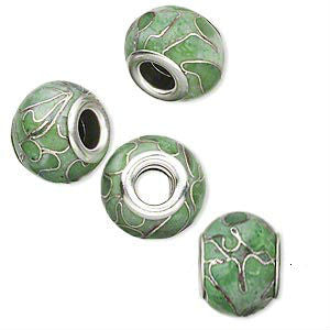 Glass Dread Bead 12