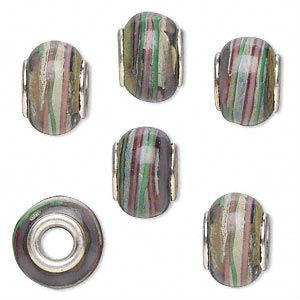 Glass Dread Bead 16