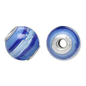 Glass Dread Bead 22