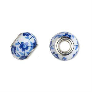 Glass Dread Bead 4