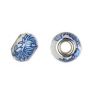 Glass Dread Bead 7