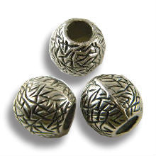 Pewter Dreadlocks Bead Style 50