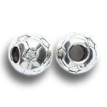 Soccer Pewter Dreadlocks Bead
