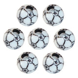 Soccer Football Dread Bead