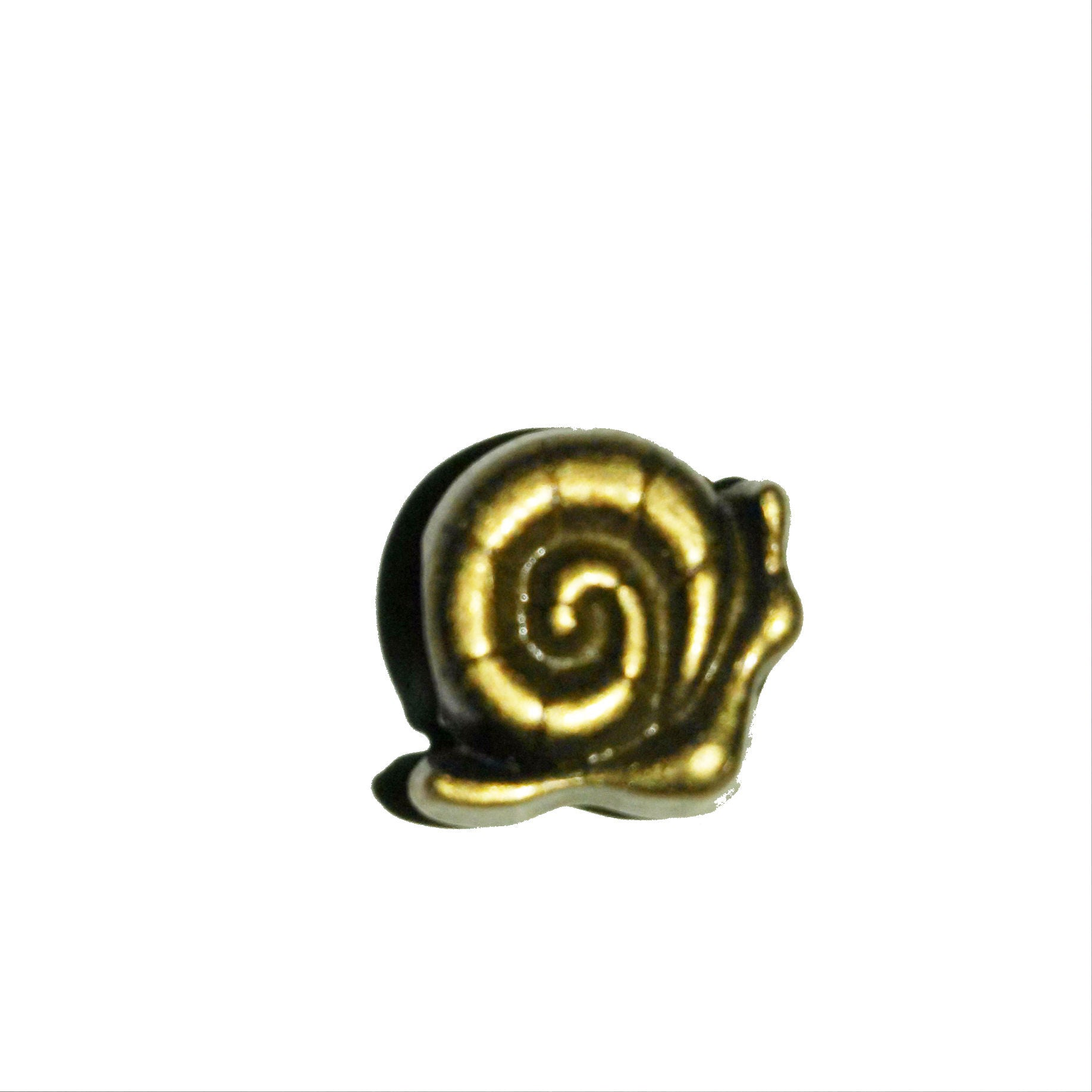Bronze Snail Dreadlocks Bead