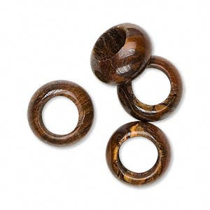 Tiger Iron Dread Bead