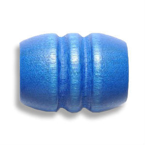 Blue Wooden Dreadlocks Bead