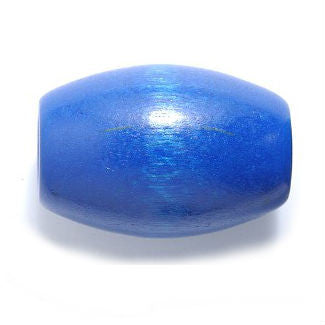 Extra Large Blue Wooden Dreadlocks Bead