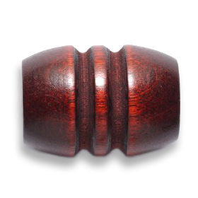 Mahogany Wooden Dreadlocks Bead
