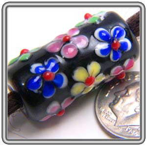 Flower Glass Bead