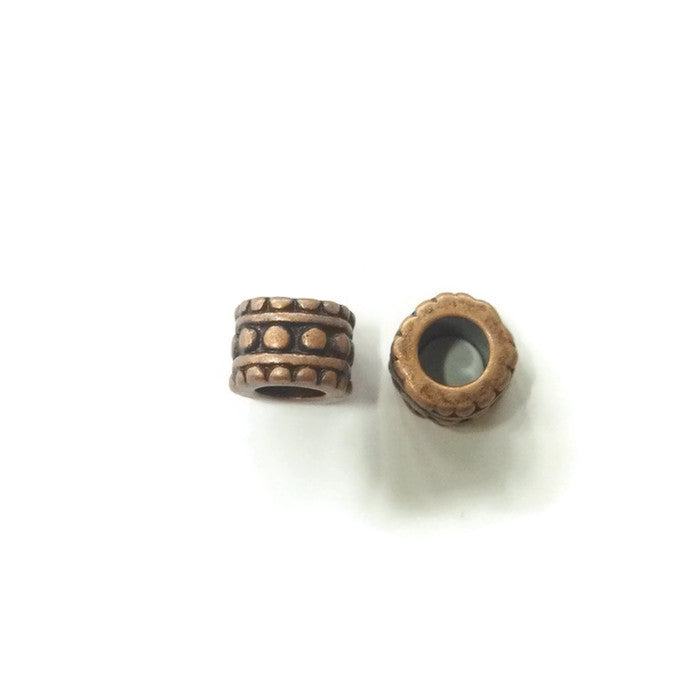 Copper Dreadlocks Bead Style 23