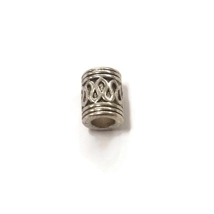 Pewter Dreadlocks Bead Style 27
