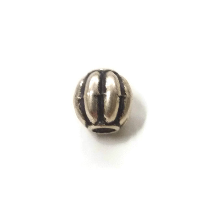 Pewter Dreadlocks Bead Style 28