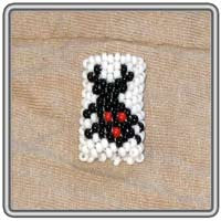 Lady Bug Peyote Stitch