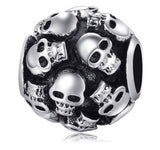 Large Skull Dread Bead