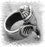 Large Elephant Pewter Dread Bead