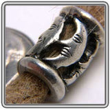 Pewter Dreadlocks Bead Style 7