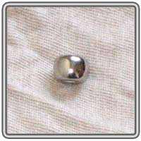 Pewter Ball Bead