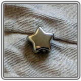 Pewter Star Bead