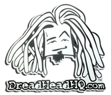 DreadHead Square Face Sticker